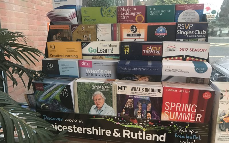 Leicestershire & Rutland Display Box 2017